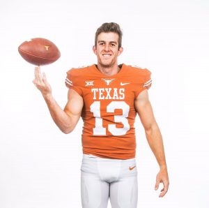 Texas' Aussie-born punter was named MVP of the Texas Bowl after 10 of his 11 punts were downed within Missouri's 15-yard line.