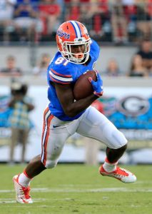 Antonio Callaway, fresh off a tremendous Combine, could be one of the steals of the draft at receiver.