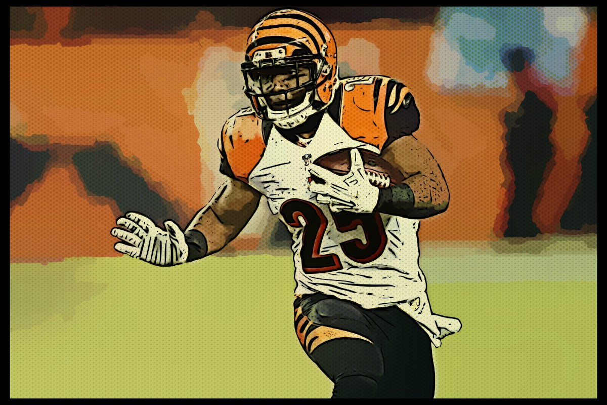 Bengals down to Gio Bernard as only experienced running back