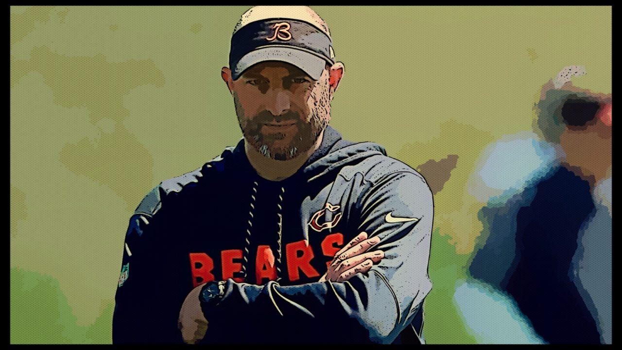 After loss, Matt Nagy, Bears deal with big dose of adversity