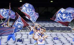 Sep 19, 2020; Atlanta, Georgia, USA; Pregame scenes prior to the Georgia State Panthers and  Louisiana-Lafayette Ragin Cajuns game at Center parc Stadium. Mandatory Credit: Dale Zanine-USA TODAY Sports