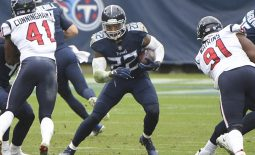 Oct 18, 2020; Nashville, Tennessee, USA; Tennessee Titans running back Derrick Henry (22) runs with the ball against the Houston Texans during second half at Nissan Stadium. Mandatory Credit: Steve Roberts-USA TODAY Sports