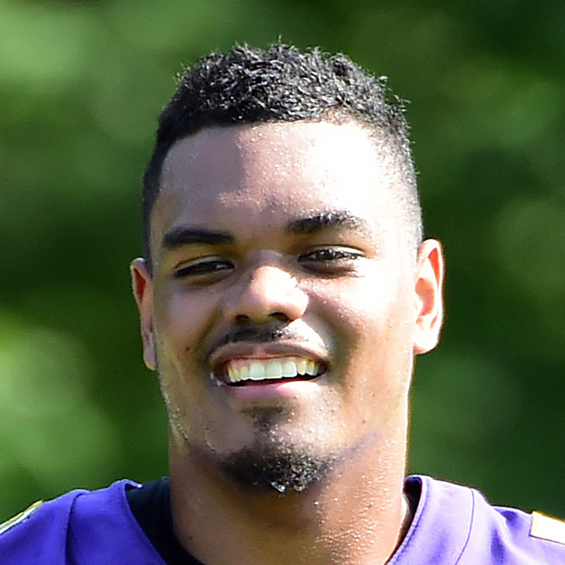 Jul 25, 2019; Baltimore, MD, USA; Baltimore Ravens offensive tackle Ronnie Stanley (79) during training camp at Under Armour Performance Center. Mandatory Credit: Evan Habeeb-USA TODAY Sports