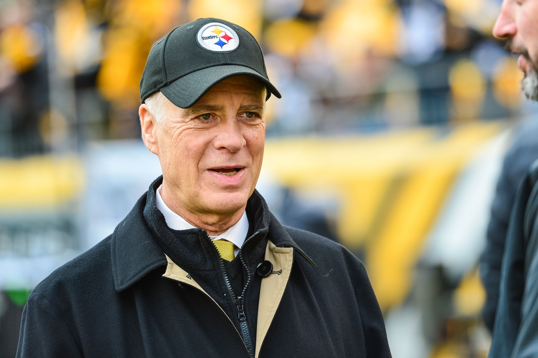 Oct 28, 2018; Pittsburgh, PA, USA; Pittsburgh Steelers president Art Rooney II before the game against the Cleveland Browns at Heinz Field. Mandatory Credit: Jeffrey Becker-USA TODAY Sports