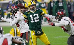 The Buccaneers defense stifled Aaron Rodgers and the Packers' second-half comeback attempt.Nfl Nfc Championship Game Tampa Bay Buccaneers At Green Bay Packers