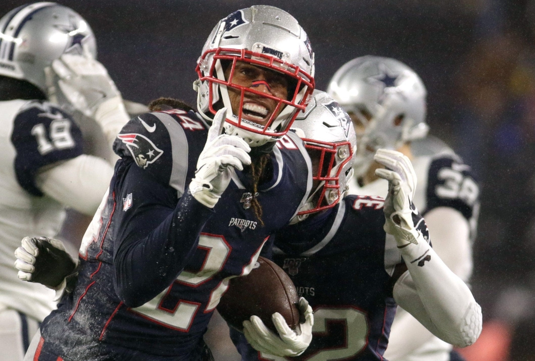 Patriots cornerback Stephon Gilmore reportedly is holding out of mandatory minicamp.  LEDE 1