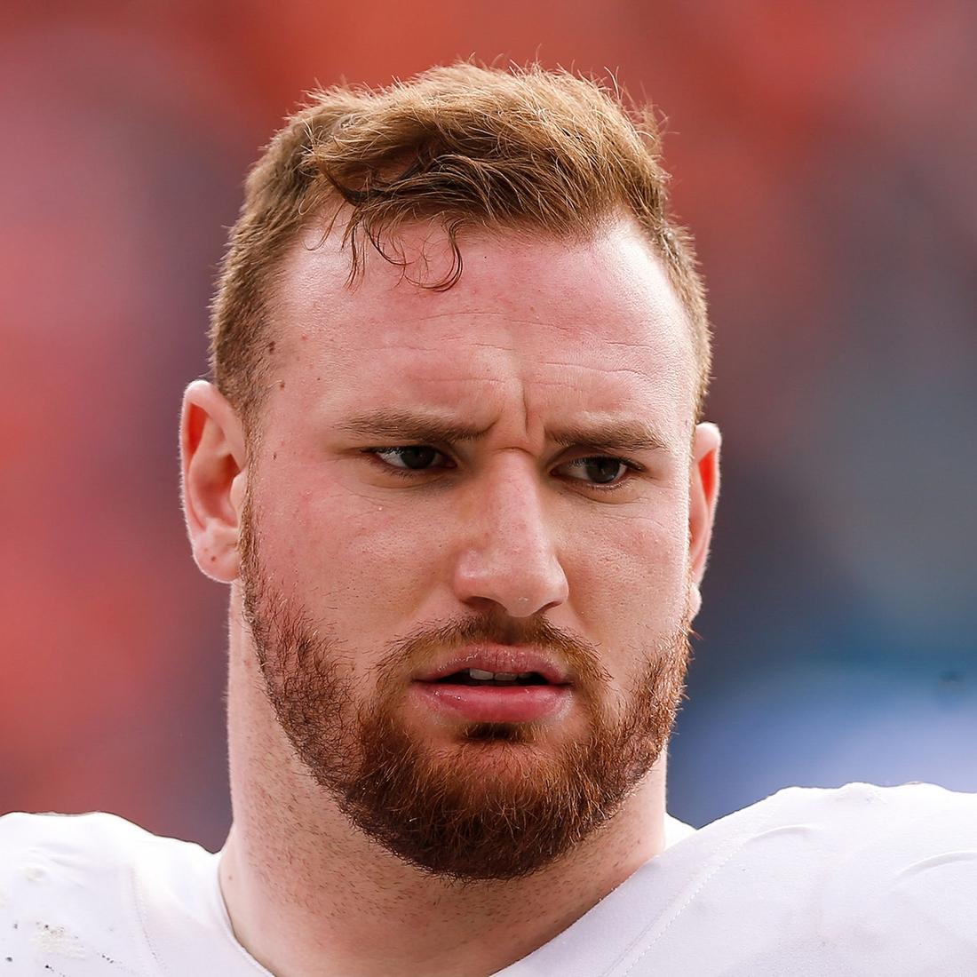 Detroit Lions NFL offensive line Frank Ragnow